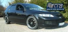 18 Zoll Felgen S-Australia black auf Mazda 6