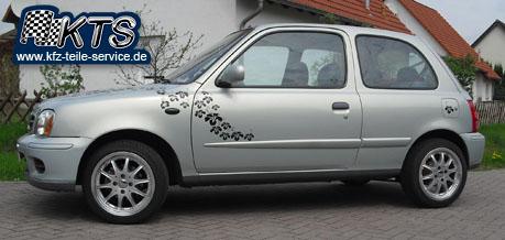 15 Zoll Felgen Nissan Micra DBV Australia silber