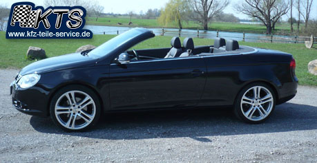 vw eos mit 19 zoll felgen dbv mauritius silber dbv. Black Bedroom Furniture Sets. Home Design Ideas