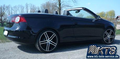 19 Zoll Felgen VW schwarz