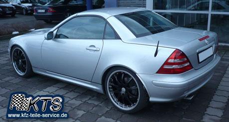 19 Zoll Felgen auf Mercedes SLK 170 V6