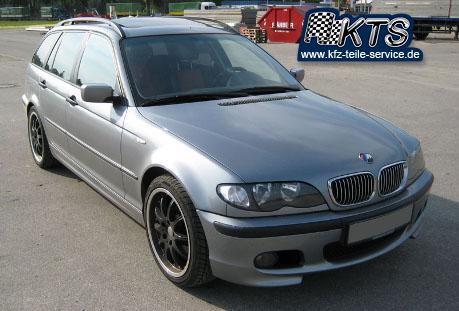 3er BMW mit 18 Zoll DBV S-Australia black Felgen