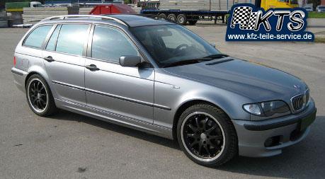 BMW 18 Zoll Alufelgen DBV S-Australia black