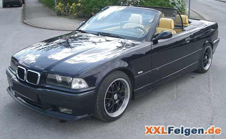 BMW E36 Felgen 17 Zoll Rial Nogaro