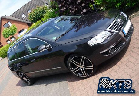 DBV Alufelgen Mauritius black auf VW Passat