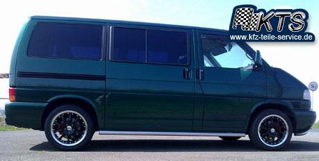 DBV S-Australia Felgen 17 Zoll auf VW Bus T4