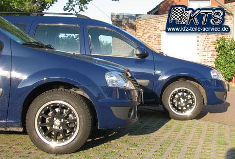 Dacia Logan Felgen mit Reifen