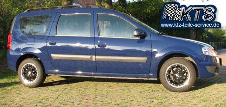 Dacia Logan mit 15 Zoll Alufelgen DBV S-Australia