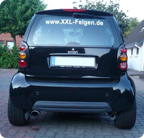 Felgen Smart Fortwo MC01