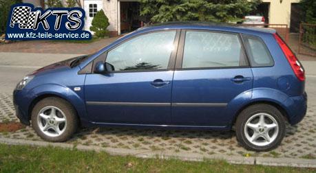 Ford Fiesta mit DBV Adria Alufelgen