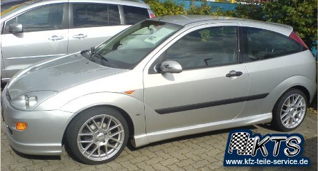 Ford Focus Alufelgen DBV Arizona 17 Zoll