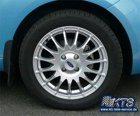 Ford Ka Komplettrad DBV Florida mit Reifen