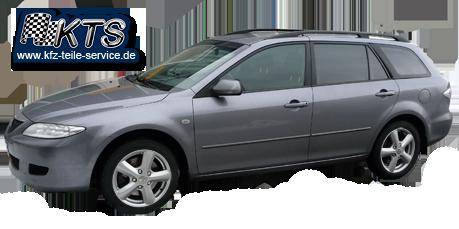 Mazda 6 mit 17 Zoll Felgen DBV Samoa