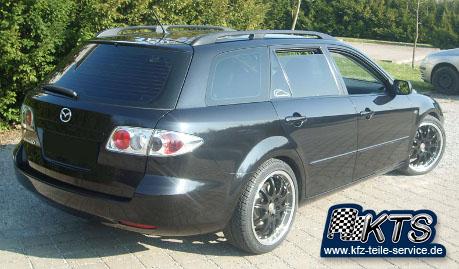 Mazda 6 schwarze Felgen S-Australia DBV