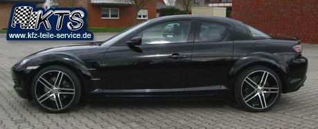 Mazda  RX8 19 Zoll Alufelgen DBV S-Mauritius