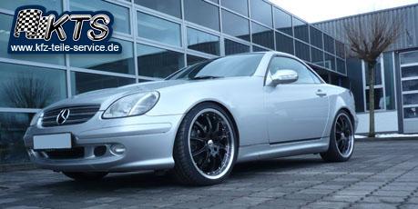 Mercedes Alufelgen 19 Zoll auf SLK