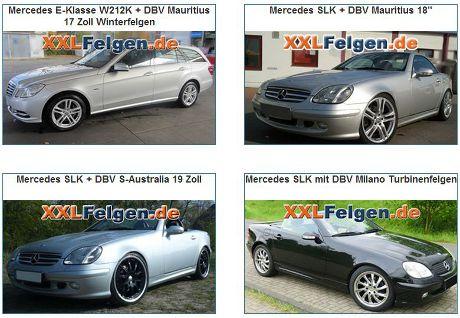 Mercedes Felgen Reifen Online Shop