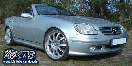 Mercedes SLK 170 mit DBV Australia Felgen 19 Zoll