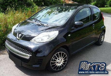 Peugeot 107 Alufelgen im Online Shop