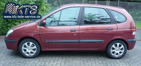 Renault Scenic mit 15 Zoll DBV Alufelgen