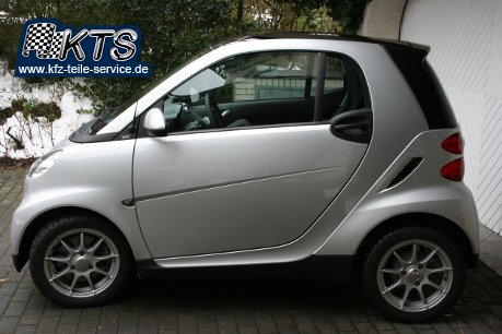 Smart Fortwo 451 Alufelgen DBV Bali 15 Zoll