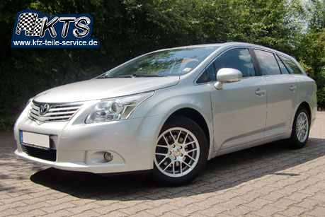 toyota avensis mit 16 zoll alufelgen dbv arizona dbv. Black Bedroom Furniture Sets. Home Design Ideas