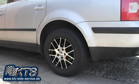 VW Alufelgen 15 Zoll mit Reifen auf Passat 3BG