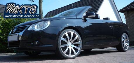 VW Eos mit Tomason TN4 19 Zoll Alufelgen