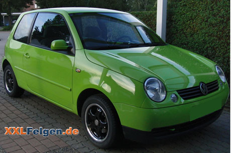 DBV Tahiti Felgen für den VW Lupo