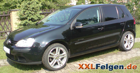 vw golf v felgen dbv mauritius 18 zoll dbv alufelgen und. Black Bedroom Furniture Sets. Home Design Ideas