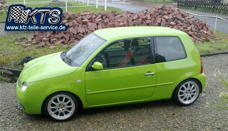 VW Lupo 6X 16 Zoll Alufelgen DBV Australia