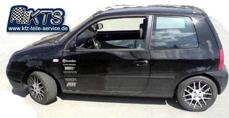 VW Lupo 6X mit 15 Zoll Alufelgen DBV S-Arizona black