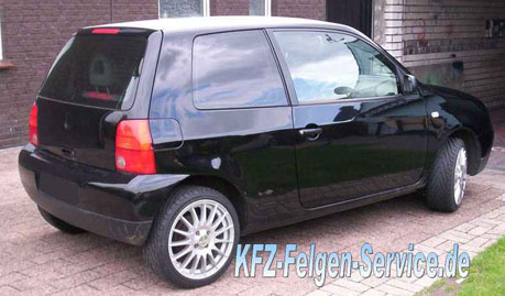 VW Lupo Felgen 16 Zoll DBV Florida
