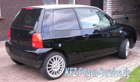 VW Lupo Felgen 16 Zoll DBV Florida