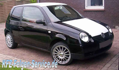 VW Lupo mit 16 Zoll Alufelgen DBV Florida