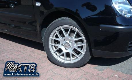 VW Polo 9N Felgen mit Reifen 15 Zoll