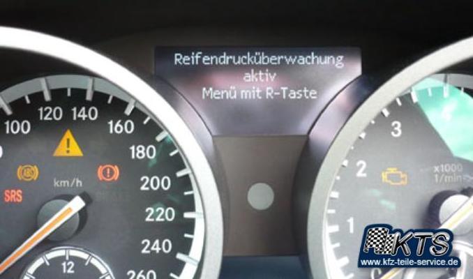 Reifendrucküberwachung Druck Reifen Luftdrucküberwachung Anzeige www.kfz-teile-service.de kfz-teile-service.de