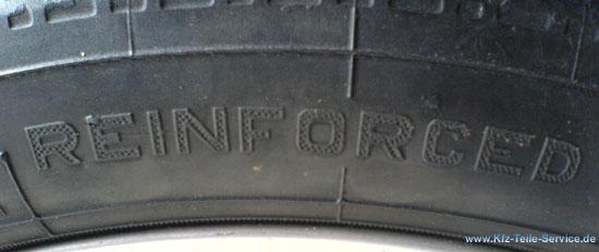 Reinforced Reifen