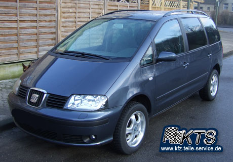 seat alhambra mit dbv tahiti alufelgen 16 zoll dbv. Black Bedroom Furniture Sets. Home Design Ideas